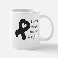 I WEAR BLACK for my Daughter Mug