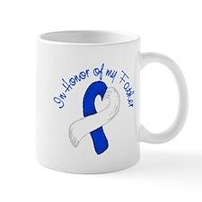 Hero Blue and White Father Mug