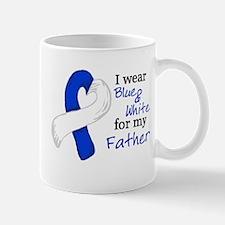 I WEAR BLUE and WHITE for my Mug