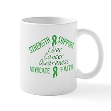 Liver Cancer Awareness Mug