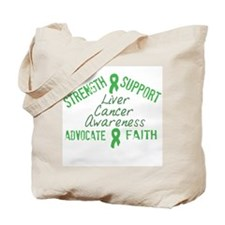 Liver Cancer Awareness Tote Bag
