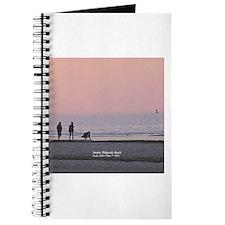 3-Way Love; Man-Woman-Dog at Ridgevale Beach Journ