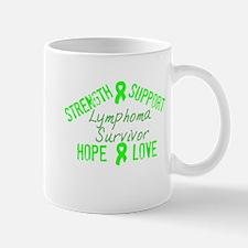 Lymphoma Inspirational Surviv Mug