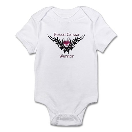 Breast Cancer Warrior Infant Bodysuit