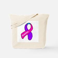 Thyroid Cancer Survivor Tote Bag