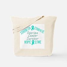 Ovarian Inspirational Awarene Tote Bag