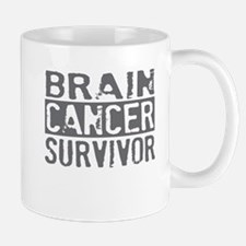 Proud Brain Cancer Survivor Mug