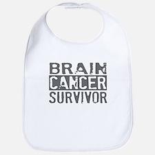 Proud Brain Cancer Survivor Bib