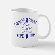 Colon Inspirational Survivor Mug