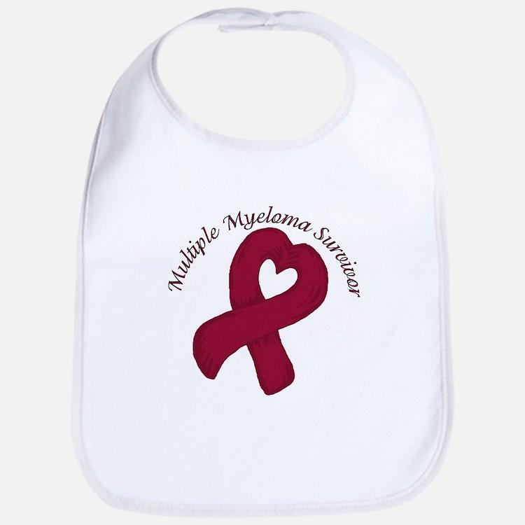 Multiple Myeloma Heart Surviv Bib
