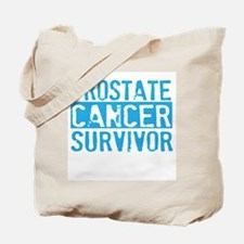 Proud Prostate Cancer Survivo Tote Bag