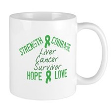 Liver Inspirational Survivor Mug