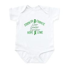 Liver Inspirational Survivor Infant Bodysuit