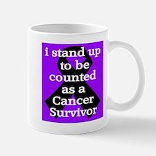 Stand Up Purple Mug