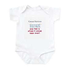 Heaven is Not Ready Infant Bodysuit