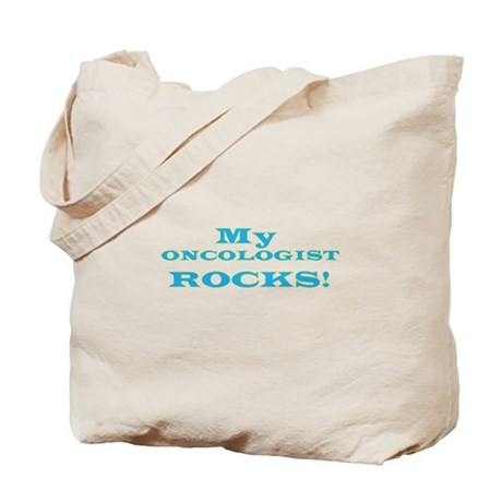 My Oncologist ROCKS! Tote Bag