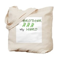 Hero Brother Green Tote Bag