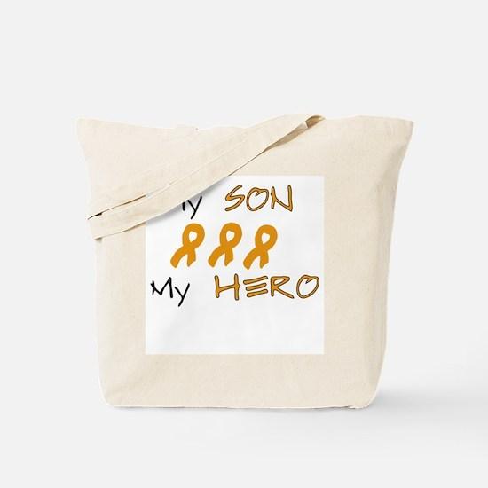 Hero Son Orange Tote Bag