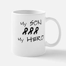 Hero Son Black Mug