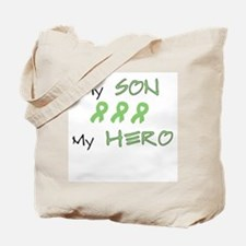 Hero Son Green Tote Bag