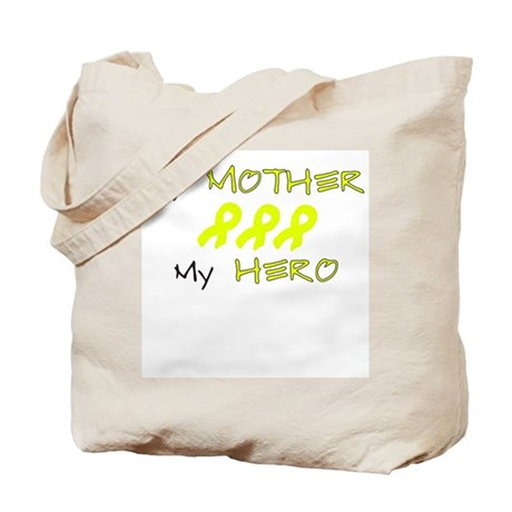 Hero Mother Yellow Tote Bag