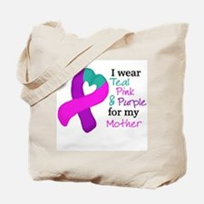 I WEAR TRI for my Mother Tote Bag