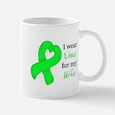 I WEAR LIME for my Wife Mug