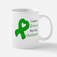 I WEAR GREEN for my Husband Mug
