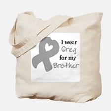 I WEAR GREY for my Brother Tote Bag