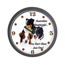 Aussie Group Wall Clock