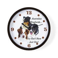 Aussie Group Wall Clock