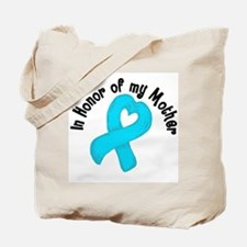 Honor Teal Mother Tote Bag