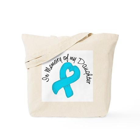 Memory Teal Daughter Tote Bag