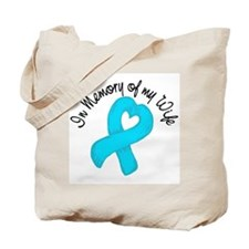 Memory Teal Wife Tote Bag