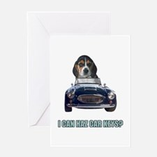 LOL Beagle Greeting Card