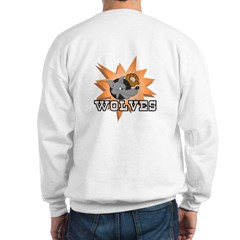 Wolves Baseball Team Sweatshirt