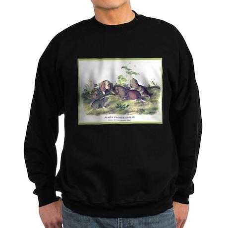 Audubon Gopher Animal (Front) Sweatshirt (dark)