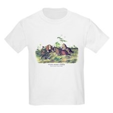 Audubon Gopher Animal (Front) T-Shirt