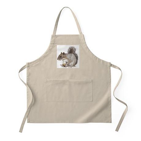 Gray Squirrel BBQ Apron