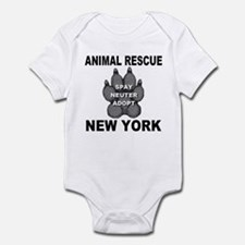 Unique Rescued horses Infant Bodysuit