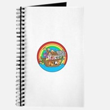 Cute Noahs ark baby Journal