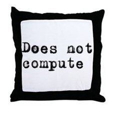 Anti-computer Throw Pillow