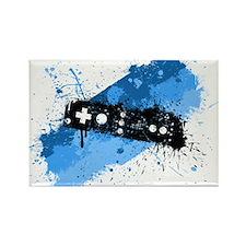 Remote Graffiti Rectangle Magnet