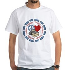 Peace Love Twilight Book Shirt