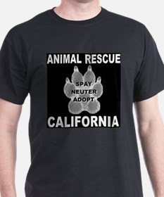 California Paw Animal Rescue T-Shirt