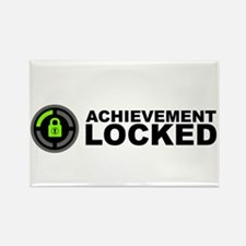 Achievement Locked Rectangle Magnet