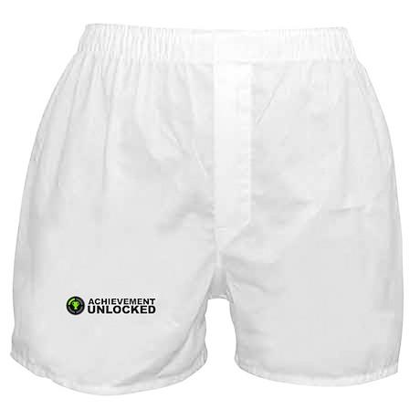 Achievement Unlocked Boxer Shorts