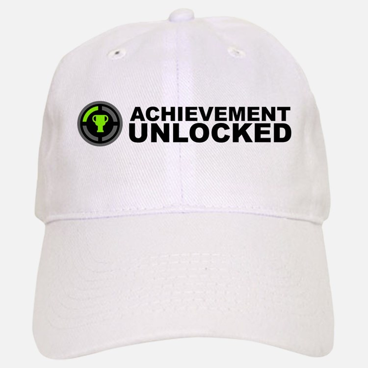 Achievement Unlocked Baseball Baseball Cap