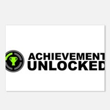 Achievement Unlocked Postcards (Package of 8)