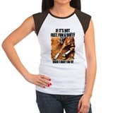 Cowgirl barrel racing Women's Cap Sleeve T-Shirt